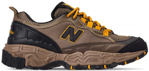 New Balance Men's 801 Trail Sneaker In Brown And Yellow ML801SB Size 12