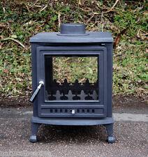 Nuri 8kw DOUBLE SIDED woodburning multifuel fire wood burner multi fuel stove