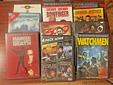 11 Action Movie DVDs (14 movies)