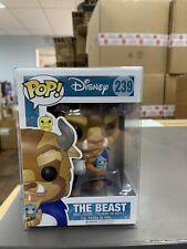 Funko POP! Disney: Beauty & the Beast Figure - THE BEAST #239 w/ Protector
