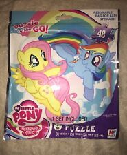My Little Pony Friendship Magic On The Go Puzzle MB 48pcs Age 6+  Resealable Bag