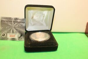 1 Oz .999 Silver Highland Mint Brendan Shanahan #907/5000
