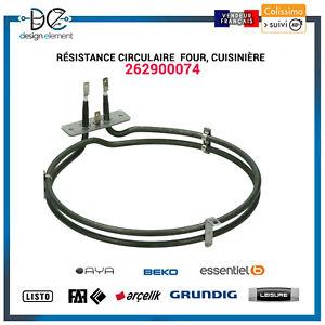 Résistance circulaire 1800W 262900074  Four Cusisinière BEKO AYA Listo Leisure