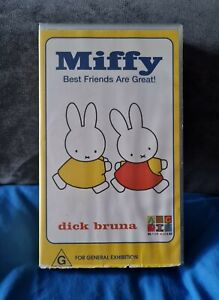 MIFFY Best Friends Are Great Kids Childrens VHS VERY RARE