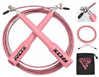 RDX Dames Boxe Réglable Corde a Sauter Vitesse Fitness Gym Femmes Perte Poids F