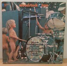 Woodstock Two . Hendrix, JA, CSNY, Melanie, Canned Heat . US 1971 Cotillion 2 LP