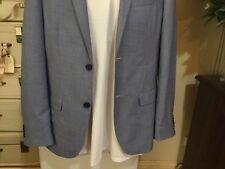 X Shop Stock BNWOT Men's Suit Jacket By VAN HEUSEN European Fit  Blue Flex