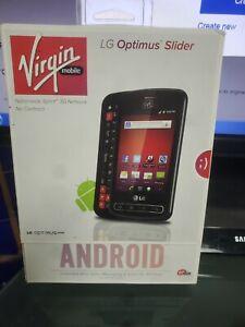 LG Optimus Slider (Virgin Mobile) Brand New m701 new sealed