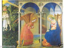 POSTAL FRAY ANGELICO LA ANUNCIACION 210 x 150 mm PAINTING POSTCARD ART   TP11614