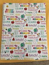Teacher Supplies- Teacher Planner- New!