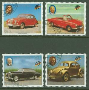 Paraguay A19 old Cars Mersedes BMW 1989 used 4v