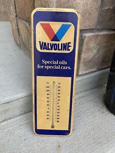 Vintage Valvoline Oil Advertising Thermometer
