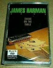 James Harman Band - Cards On The Table / MC / OVP Sealed / Cassette Tape Blues