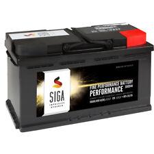 SIGA Autobatterie 12V 100AH 850A/EN Starterbatterie ersetzt 105Ah Batterie