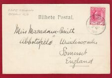 More details for cape colony ocean post office 1903 postmark funchal gardens madeira pc am45