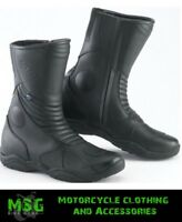 Spada Seeker Waterproof Motorcycle Motorbike Scooter Leather Boots - Sale