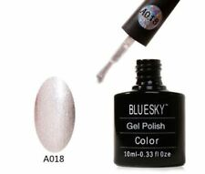 Bluesky UV LED Soak Off Nail Polish A18 Silver Sparkle 10ml