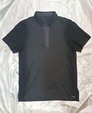 GUESS polo color grigio scuro dark grey taglia size M 100% cotone cotton