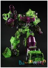 Transformers Toy GT-01 GS Devastator Hercules Clear Green Shadow New in USA
