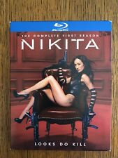 Nikita: The Complete First Season (Blu-ray Disc, 2011, 4-Disc Set)