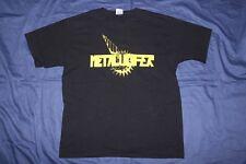 METALUCIFER Logo t-shirt SIZE L Sabbat Loudness Sabbrabells Abigail