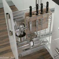 Hafele 300mm Kitchen Multipurpose Base Unit Pull Out Storage Unit SOFT CLOSE