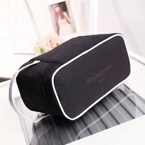 Yves Saint Laurent YSL Black Beauty Makeup Trousse Bag Case 25*12*14
