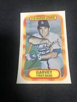 Steve Garvey Baseball Card Los Angeles Dodgers All Star 1977 3D Kelloggs XOGRAPH