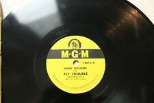 Hank Williams, Fly Trouble / On The Banks Of The Old Ponchartrain, 78rpm shellac
