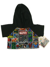 Build-a-bear Marvel Comics 80th Anniversary Hoodie Superheroes With Tags