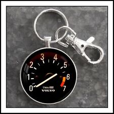 Vintage Volvo 240 DL Series Tachometer Photo Keychain Father's Day Gift 🎁 VDO