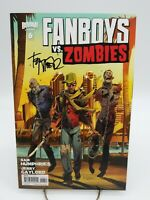 Fanboys vs Zombies #6 Walking Dead Homage Cover Signed by Tony Moore Comic Book