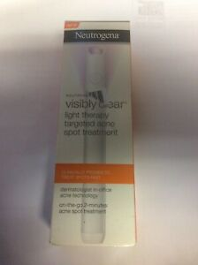 Neutrogena Visibly Clear Light Therapy Targeted Acne Spot Breakout Treatment Pen