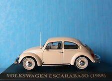 VW VOLKSWAGEN BEETLE ESCARABAJO 1985 IXO 1/43 COCCINELLE ALTAYA DIE CAST METAL