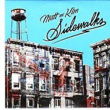(CC356) Matt & Kim, Sidewalks - 2011 DJ CD