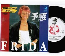"ABBA-FRIDA I Know Something Going On JAPAN PROMO WHITE 7"" SINGLE w/PS DSP-219"