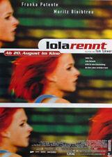 "Run Lola Run - German Advance Movie Poster / Print (Lola Rennt) (23"" X 33"")"