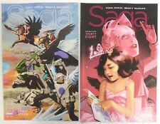 SAGA # 37 & 38 Comic ~ IMAGE ~ Brian K Vaughan ~ VF+/NM/UNREAD ~ 1st PRINT