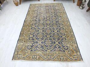 Antique Rug 5.4x8.4,Turkish Rug,Bohemian Rug,Old Wool Rug,Handwoven Rug,Handmade