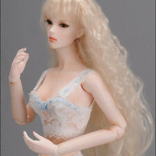 """Dollmore  Fashion Doll Tylar wig (4-5)""""  Very Long Sauvage (Blonde)"""