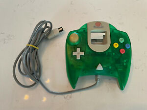 Clear Green Sega Dreamcast Controller (Official)Great Condition Tested Working!