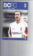 Premiership Teams A-B Birmingham City Football Programmes
