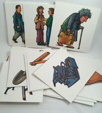 Teaching Resource Teacher Aid Schubi Combi Image Story Writing Card Set Box