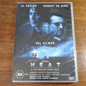 Heat DVD Al Pacino R4 LIKE NEW FREE POST