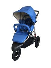 Poussette aluminium trois roues bébé enfant inclinable panier rangement VIALA B
