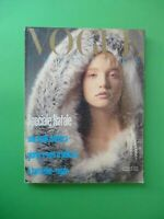 Vogue Italy Shopping 429 December 1985 December Furs Fashion Fur Fourrure Pelz