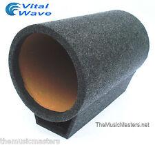 "10"" inch EMPTY Torpedo TURBO BASS TUBE Sub Woofer HQ Car Audio Speaker Box VWLTW"
