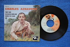 CHARLES AZNAVOUR / EP BARCLAY 70519 / LABEL 1 / BIEM 1963 ( F )
