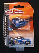 Majorette Mini Cooper WRC 8/18 Racing Cars 1:64