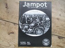 JAMPOT THE OWNERS CLUB JOURNAL JANUARY 1983 NUMBER 363